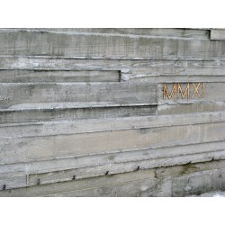 Small Crop Of Board Formed Concrete
