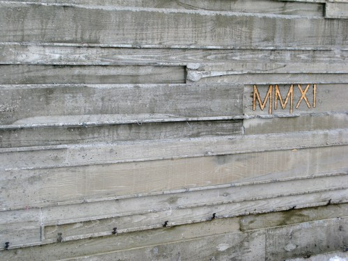Medium Of Board Formed Concrete