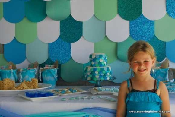 1-#mermaid party #decorating #under the sea #ideas-023