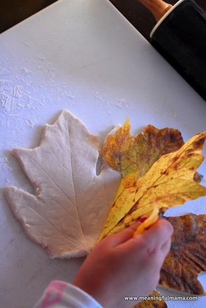 1-#leaf bowl #craft #salt dough #kids-020