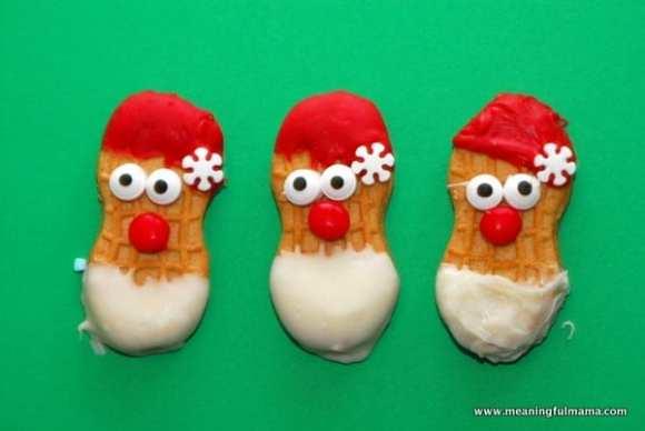 1-#nutter butter #Christmas #treats #food #cookies #santa #reindeer #snowman-021
