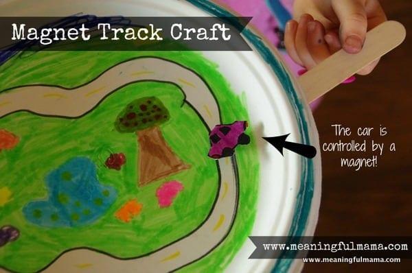 1-magnet track road kids craft paper plate Mar 3, 2014, 4-011