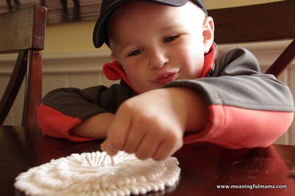 1-Bunny Craft Easter Q-Tips Kindergarten Apr 11, 2014, 2-023