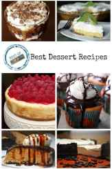 Best Dessert Recipes on Pinterest - Pies, Cakes, Cookies and More