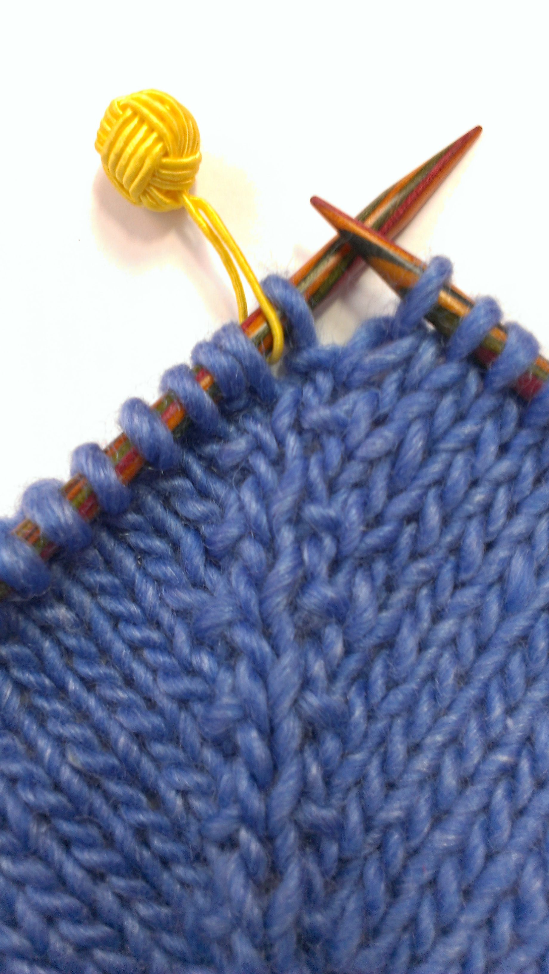 Knit Kfb : To kfb or not that is the question… measured threads