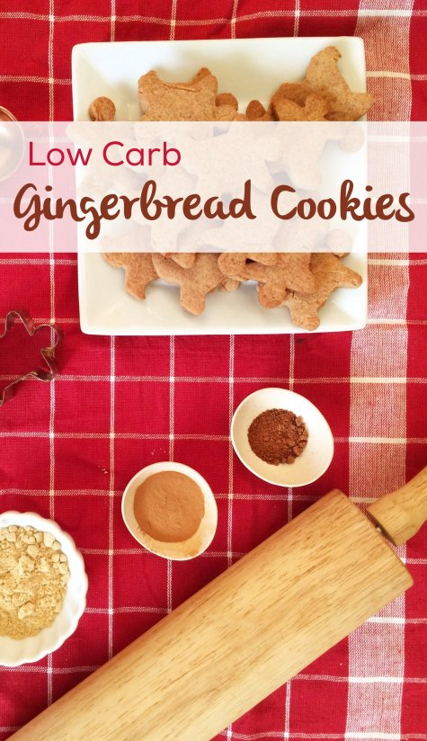 Low Carb Gingerbread Cookies