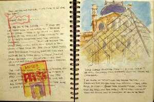 France Sketchbook 2 #1