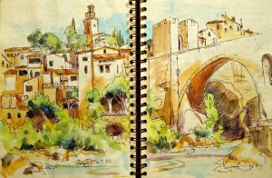 Spain Sketchbook #4