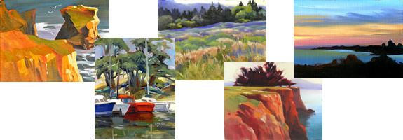 Oil Paintings: Landscapes