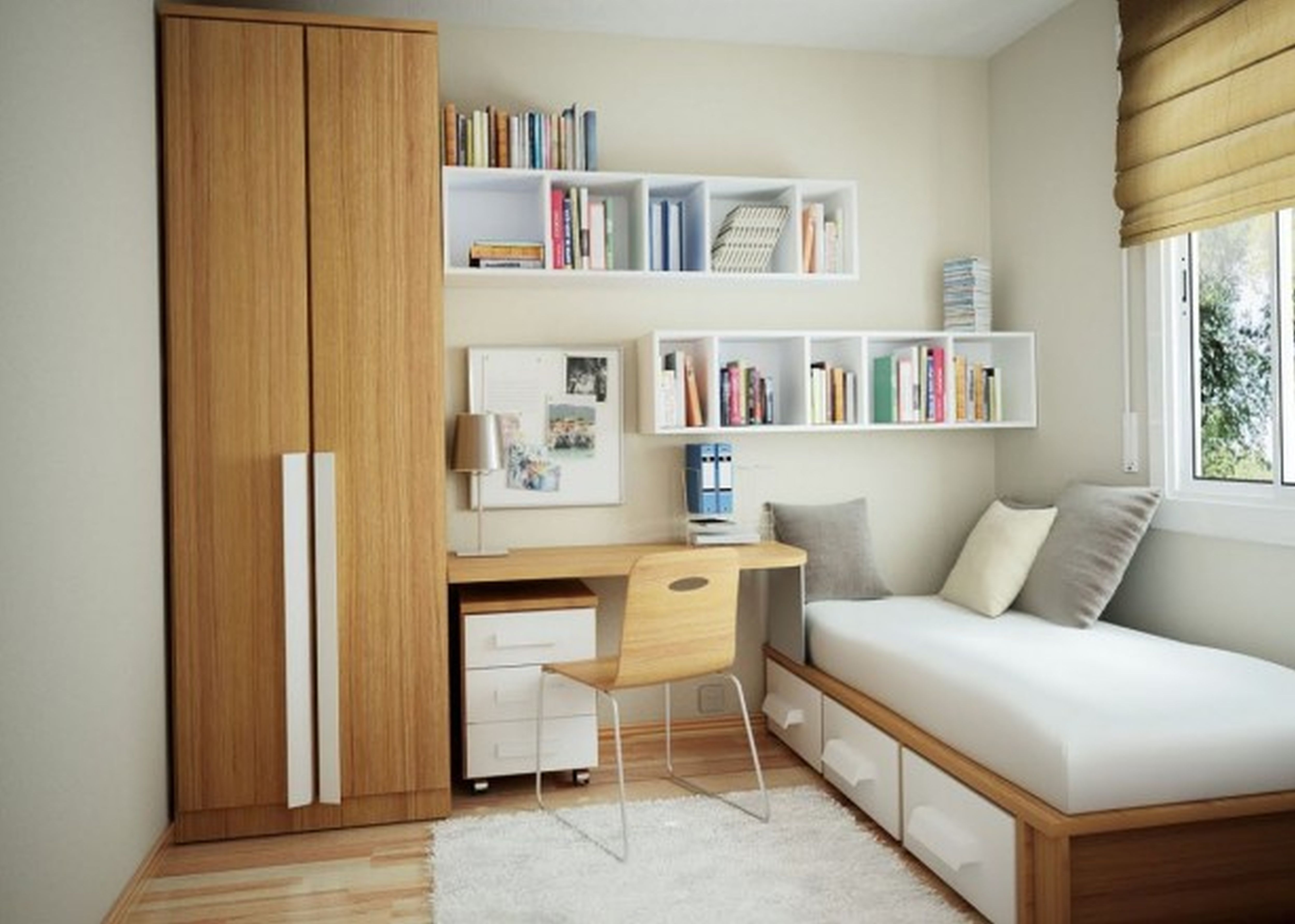 bedroom exciting murphy bed ikea with mid century wall shelves and swivel traditional design cozy berber carpet plus wood desk 4