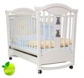 Детская кроватка-качалка Glamour Bunny