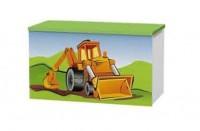 Сундук для игрушек Baggi Строитель Sk-70