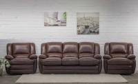 Комплект кожаной мягкой мебели Верона (3+1+1)