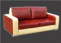 Кожаный мягкий диван Дипломат