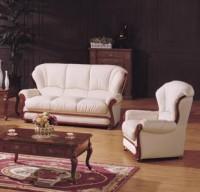 Комплект кожаной мягкой мебели Венеция (3+1+1)