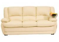 Кожаный мягкий диван Верона трех местный