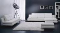 Комплект кожаной мягкой мебели LUNA