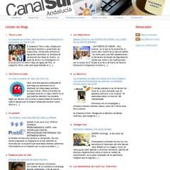 Blogs Canal Sur