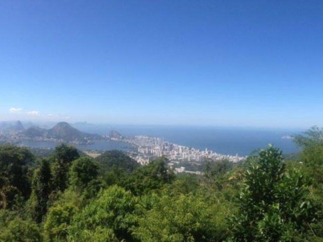 A vista da Vista Chinesa, no Rio de Janeiro