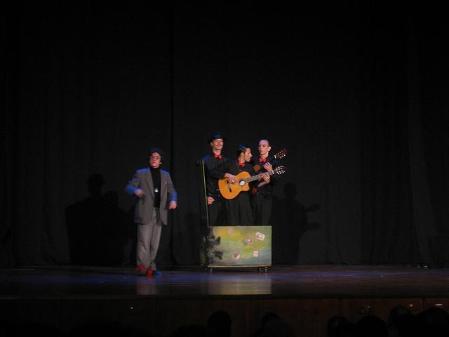 Tango show at Teatro Lido