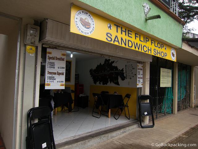 Flip Flop Sandwich Shop