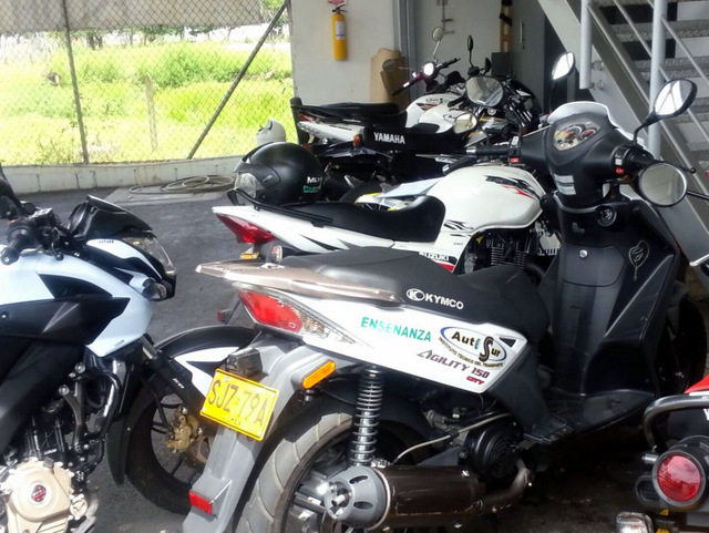 A selection of the bikes available at AutoSur.