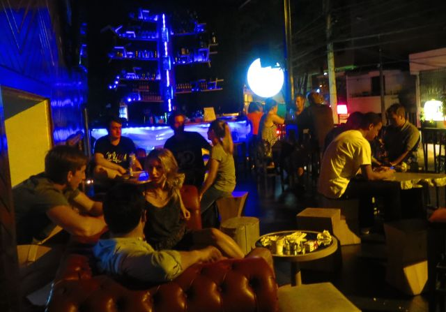 Tree Bar, part of the Happy Buddha Boutique Hostel, is a great place to socialize.