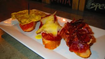 With chorizo imported from Spain, the tapas at Tarambana are as good as it gets.