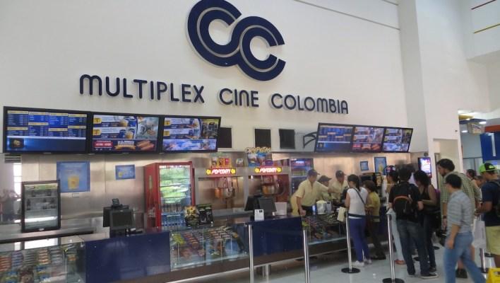 Cine Colombia in Santafé mall