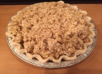 Apple Pie from Medel Orchards in Ruthven Ontario