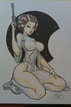 princess leia sexy art