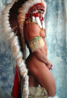 native american men nude