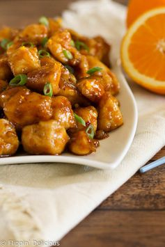 Copy Cat Panda Express Gluten Free Orange Chicken | Flippin' Delicious - Highlighted at the #HomeMattersParty 55