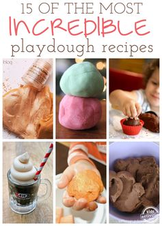 15 Incredible Playdough Recipes - Kids Activities Blog