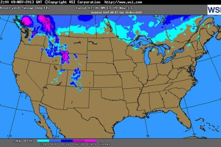 intellicast snow cover in united states | share the knownledge