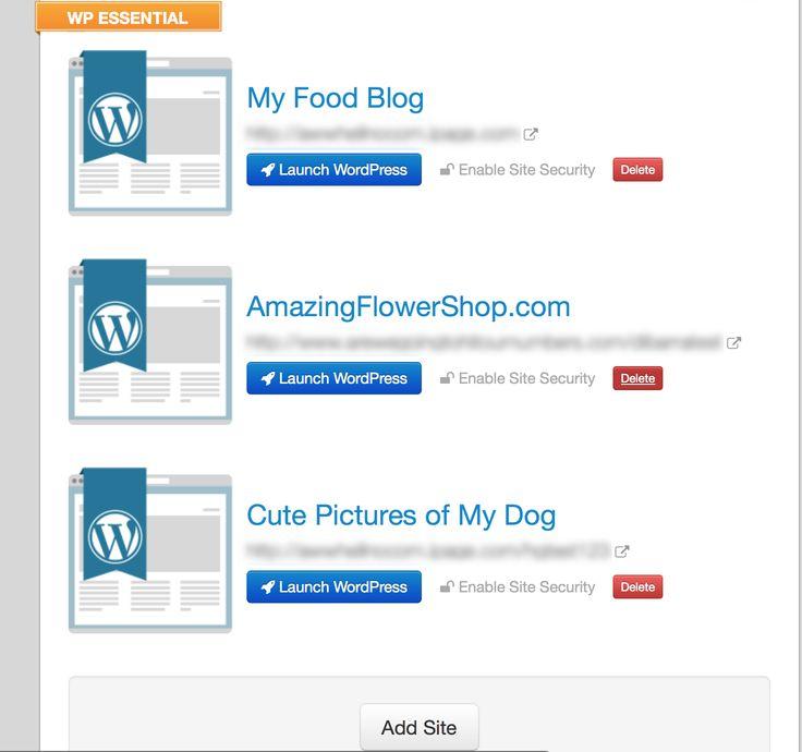 WP Essential - WordPress Plan