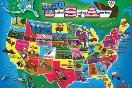 pics photos usa map game for kids