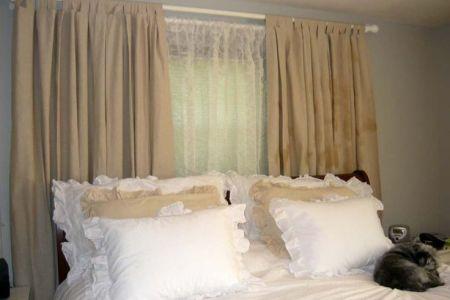 bedroom curtain ideas | decor | pinterest