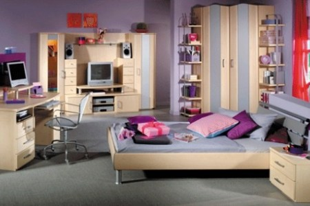 cute high tech girls bedroom! | interior design | pinterest