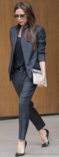 Street Style | Victoria Beckham.