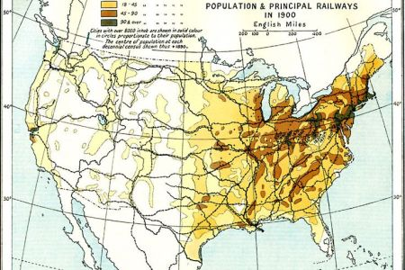 united states population density, 1900.   maps   pinterest