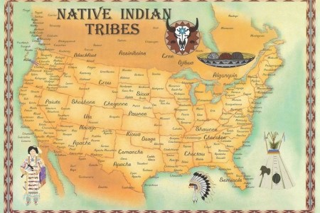 map of tribes | native americans | pinterest