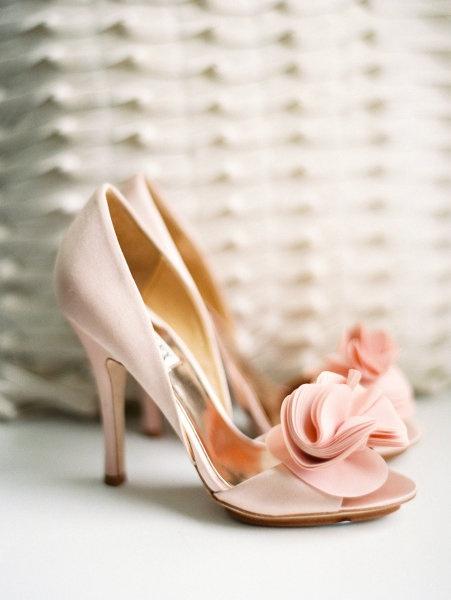 Blush Pink Weding Shoes 029 - Blush Pink Weding Shoes