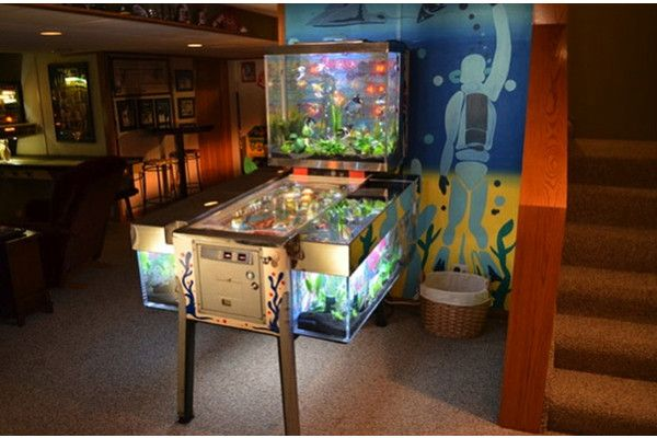 pinball fish tank cool:) | Aquariums & Fish Tanks | Pinterest