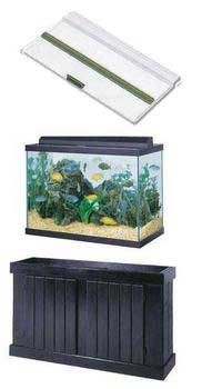 Tank With Versatop And Stand Combo, All Glass Aquarium    75 Gallon