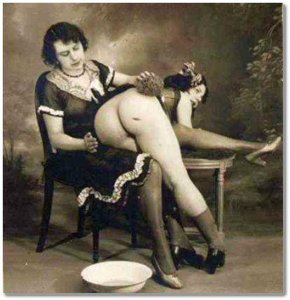 femdom spanking art