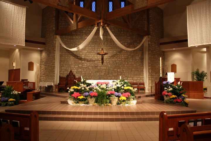 Ideas on how to decorate the church sanctuary joy studio for Altar wall decoration