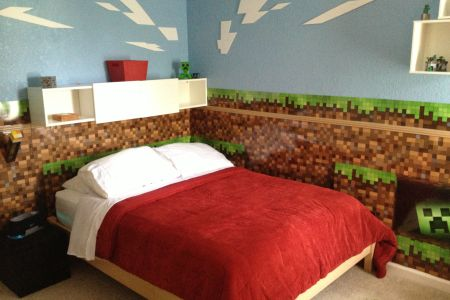 minecraft bedroom | devon | pinterest