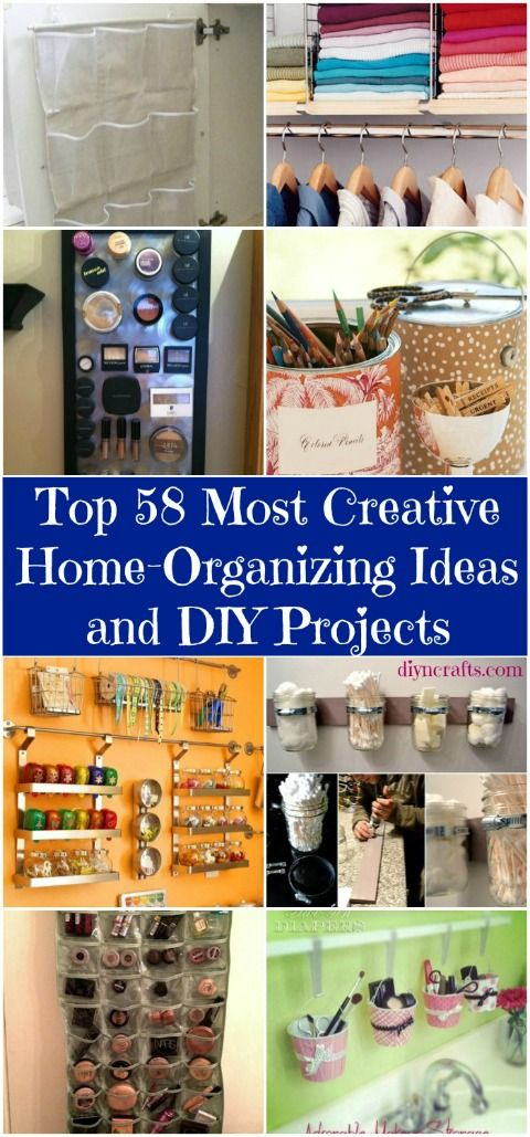 Top 58 most creative home organizing ideas and diy The most organized home