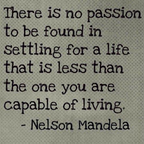 Nelson Mandela, inspiraation nelson mandela